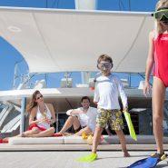 Аренда яхты для отдыха с детками на выходных